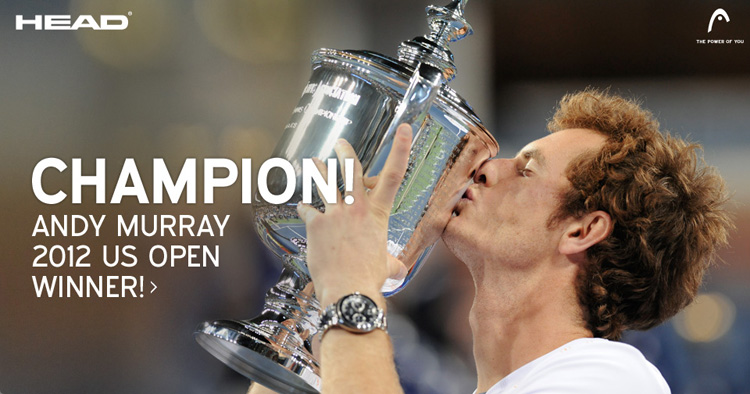 Andy Murray 2012 US Open Winner